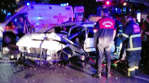 Bulancak'ta Trafik Kazası