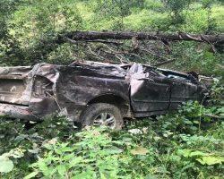 Giresun Dereli'de Trafik Kazası
