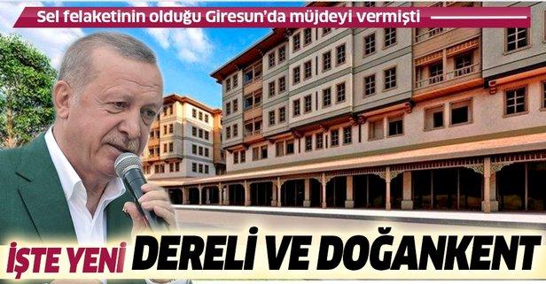 Yeni Dereli Projesi Türkiye'ye Örnek Olacak